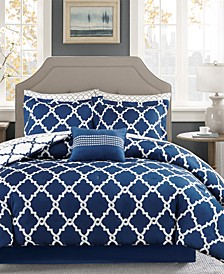 Merritt Reversible 7-Pc. Twin Comforter Set