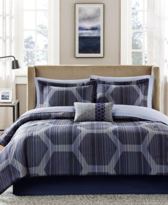 Rincon 7-Pc. Twin Comforter Set