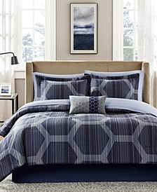Rincon 7-Pc. Twin Comforter Set