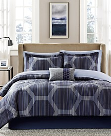 Madison Park Essentials Rincon 7-Pc. Twin Comforter Set