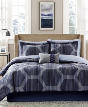Madison Park Essentials Rincon 9Pc Queen Comforter Set Bedding
