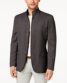Alfani Men's Classic-Fit Brick Textured Hybrid Sport Coat, Created for Macy's
