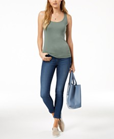 Maison Jules Tank Top & Skinny Jeans, Created for Macy's