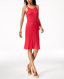 MICHAEL Michael Kors Ribbed Dress