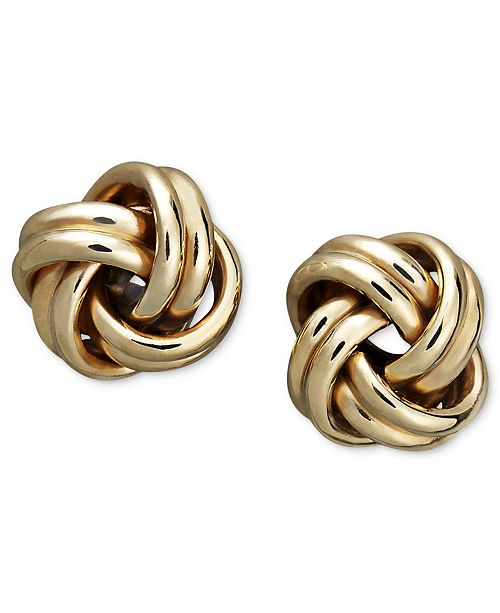 a omega this silver italian love earrings about p knot fmt tri wid in hei item target color