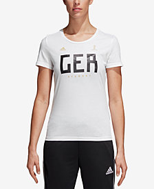 adidas Cotton Germany Soccer T-Shirt