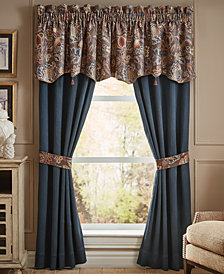 "Croscill Brenna Pole Top 82"" x 84"" Window Drapery"