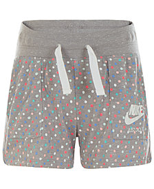 Nike  Little Girls  Printed Gym Shorts