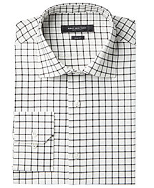 Marc New York Men's Slim-Fit Motion-Ease Collar Wrinkle-Free Diamond Print Dress Shirt