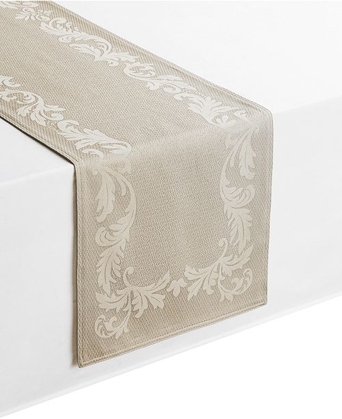 """Waterford Celeste Taupe 14"""" x 72"""" Table Runner"""
