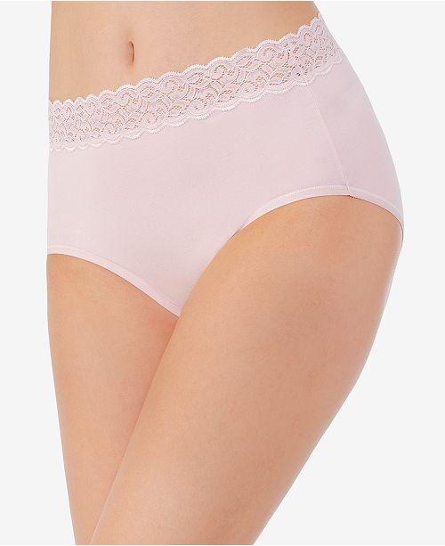 34c02e508 ... Vanity Fair Flattering Cotton Lace Stretch Brief 13396