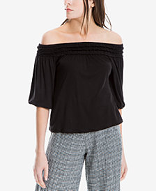 Max Studio London Jersey Off-The-Shoulder Top, Created for Macy's