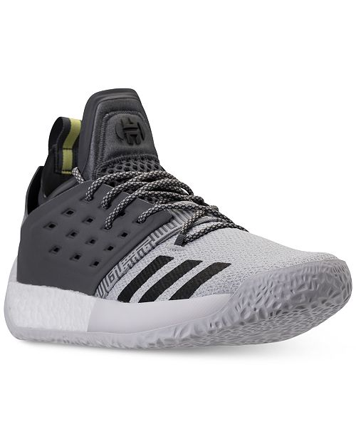 80e6d6f1574a adidas Men s Harden Vol.2 Basketball Sneakers from Finish Line ...