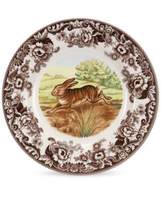 Dinnerware, Woodland Rabbit Ascot Bowl