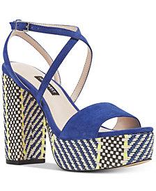 Nine West Markando Platform Dress Sandals
