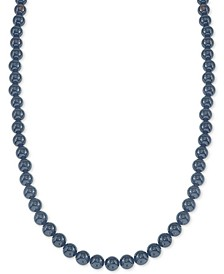 "Onyx (10mm) 30"" Necklace, Created for Macy's"