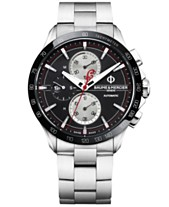 c1d551a895c LIMITED EDITION Baume   Mercier Men s Swiss Automatic Chronograph Clifton  Club Indian Stainless Steel Bracelet Watch
