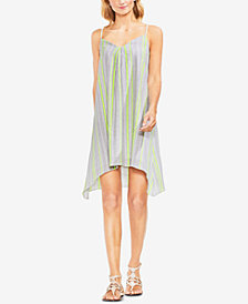 Vince Camuto Handkerchief-Hem Shift Dress