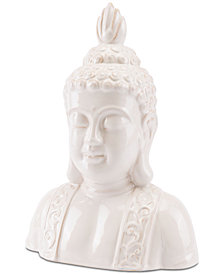 Zuo Buddha Head with Distressed Finish