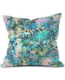 Deny Designs San Juan Aqua Throw Pillow