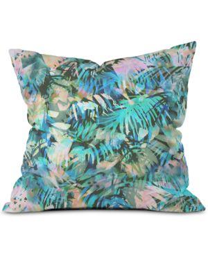 DENY DESIGNS | Deny Designs San Juan Aqua Throw Pillow | Goxip