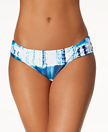 Lucky Brand Costa Azul Printed Bikini Bottoms