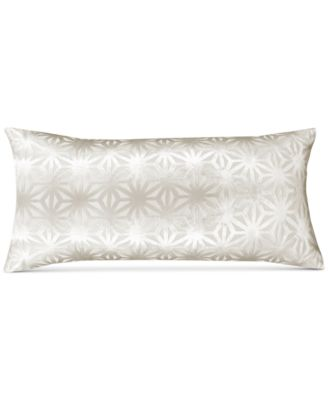 "Beige Velvet 13"" x 26"" Decorative Pillow"