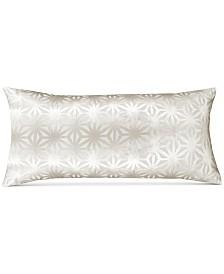 "Hallmart Collectibles Beige Velvet 13"" x 26"" Decorative Pillow"