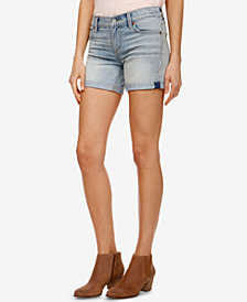 Lucky Brand Rolled-Cuff Denim Shorts