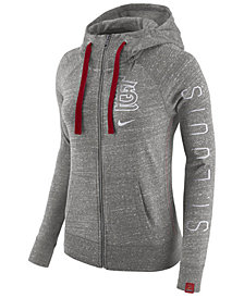 Nike Women's St. Louis Cardinals Gym Vintage Full Zip Hooded Sweatshirt