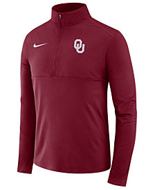 Nike Men's Oklahoma Sooners Performance Half-Zip Pullover