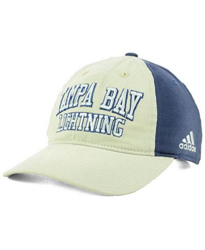 adidas Tampa Bay Lightning Sandblasted Slouch Cap