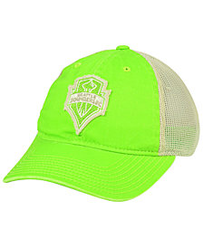 adidas Seattle Sounders FC Bleached Trucker Cap