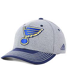 adidas St. Louis Blues Heather Line Change Cap