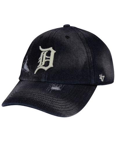'47 Brand Detroit Tigers Dark Horse CLEAN UP Cap