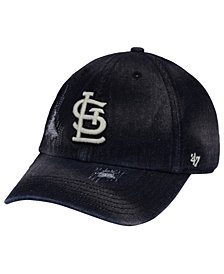 '47 Brand St. Louis Cardinals Dark Horse CLEAN UP Cap