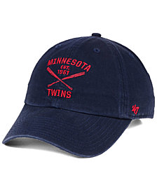 '47 Brand Minnesota Twins Axis CLEAN UP Cap