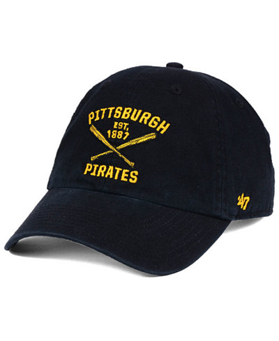 '47 Brand Pittsburgh Pirates Axis CLEAN UP Cap