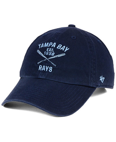 '47 Brand Tampa Bay Rays Axis CLEAN UP Cap