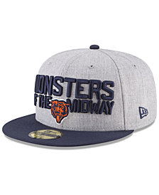 New Era Chicago Bears Draft 59FIFTY FITTED Cap