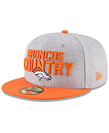 New Era Denver Broncos Draft 59FIFTY FITTED Cap