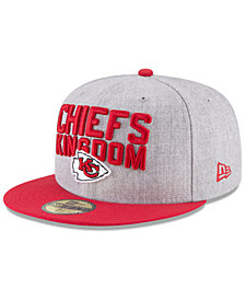 New Era Kansas City Chiefs Draft 59FIFTY FITTED Cap