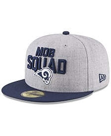 New Era Los Angeles Rams Draft 59FIFTY FITTED Cap
