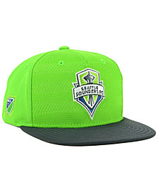 adidas Seattle Sounders FC Authentic Snapback Cap