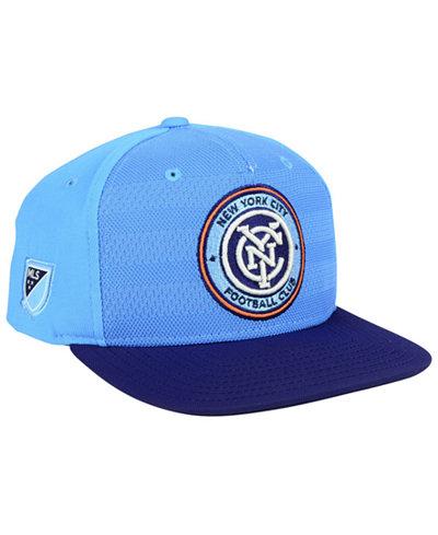 adidas New York City FC Authentic Snapback Cap