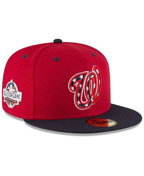 huge selection of 4a45b a0645 ... FITTED Cap  New Era Boys  Washington Nationals Washington All Star Game  Patch 59FIFTY FITTED ...