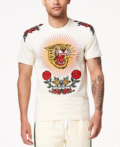 Reason Men's World Class Embroidered T-Shirt