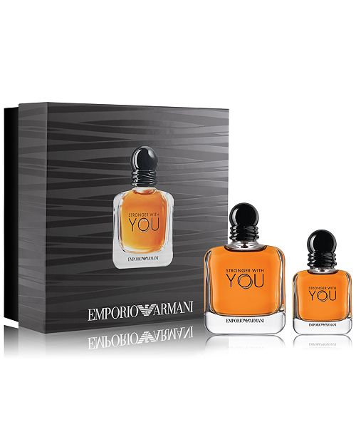 0089396545 Emporio Armani Men's 2-Pc. Stronger With You Gift Set & Reviews ...