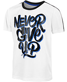 Ideology Big Boys Never-Print T-Shirt, Created for Macy's