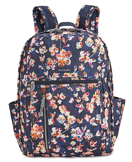 bd4cc3eb394b Vera Bradley Lighten Up Grand Backpack - Handbags   Accessories - Macy s